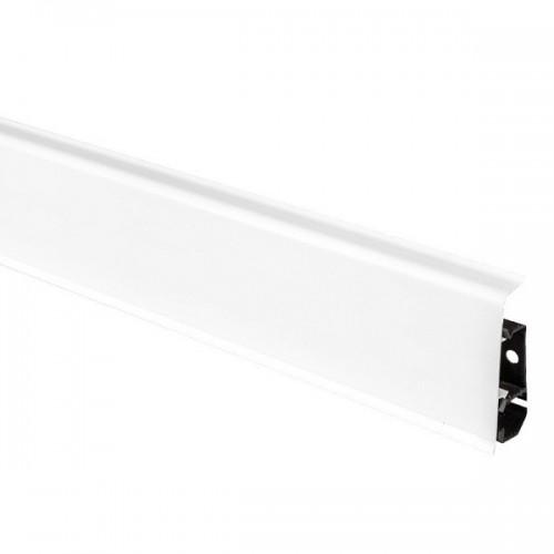 Пластиковый плинус Arbiton Indo 01 Белый блеск