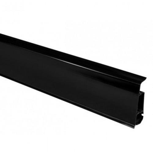 Пластиковый плинус Arbiton Indo 18 Черный блеск